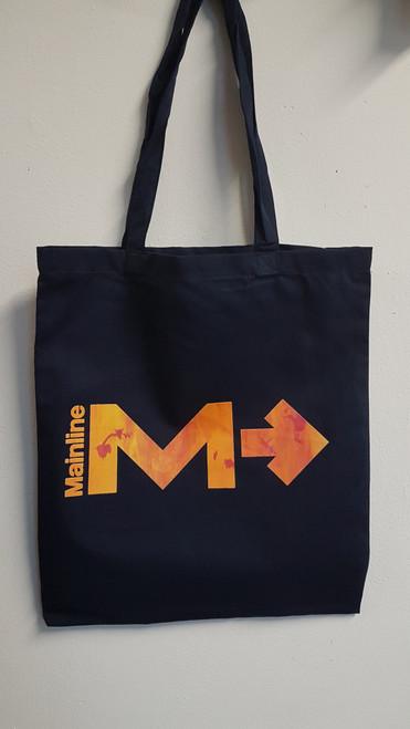 Mainline Metro Logo Gradient Print Tote Bag