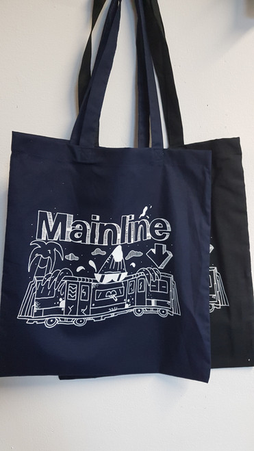Mainline x Smasharelli7 Banana Train Tote Bag