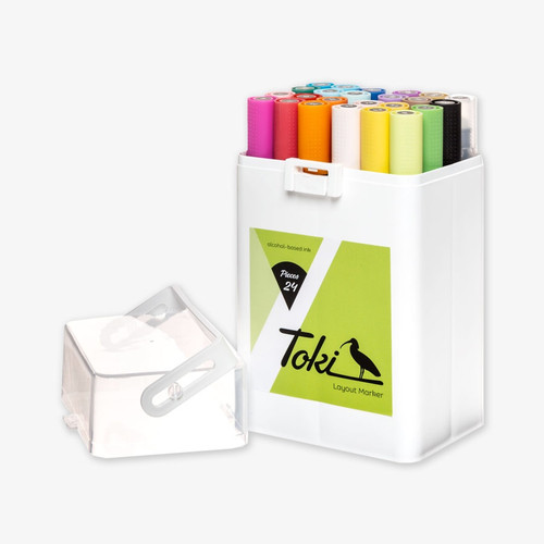 Toki Twin-Tip Marker Main A 24 Set