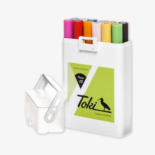 Toki Twin-Tip Marker Main A Set
