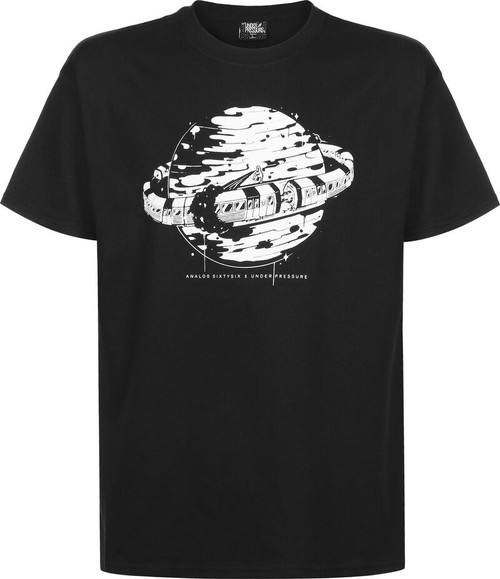 Underpressure Subway Planet 2 T-Shirt Black