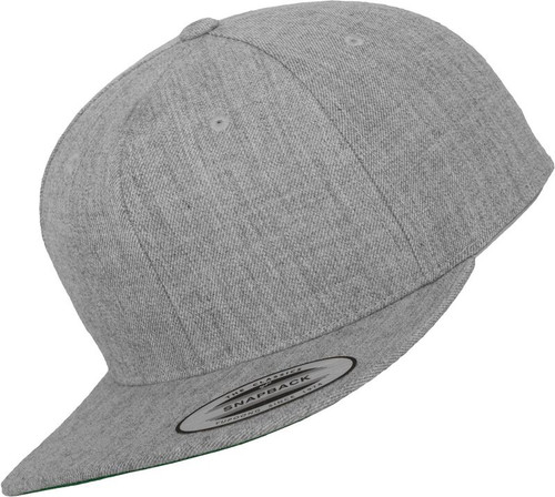 Flexfit Classic Snapback Heather Grey