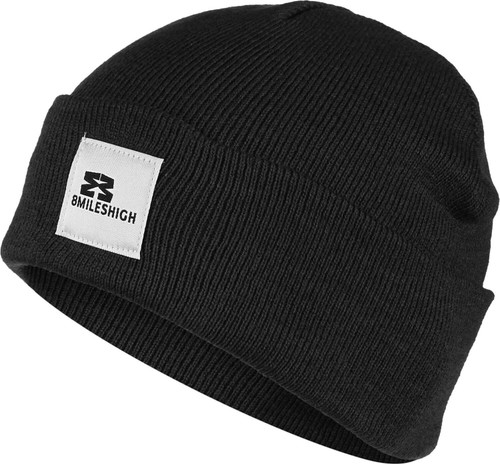 Eight Miles High Short Beanie Black