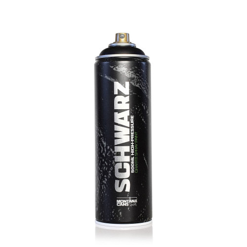 Montana SCHWARZ Spray Paint 500ml