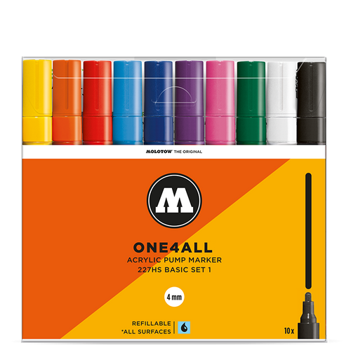 Molotow One4All 227HS Basic Set 1 (10-pack)