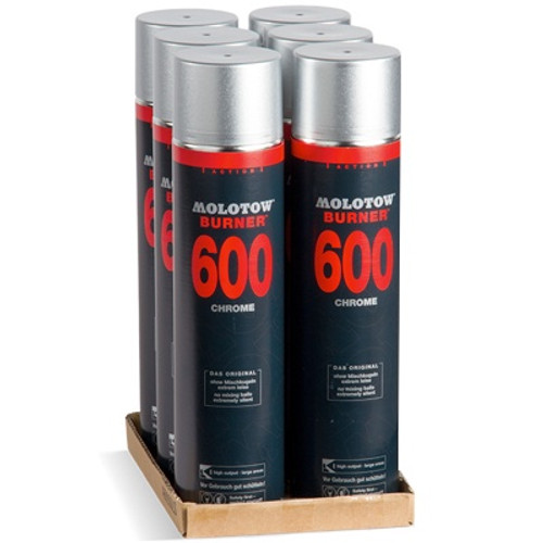Molotow Burner Chrome 600ml 6-Pack Offer