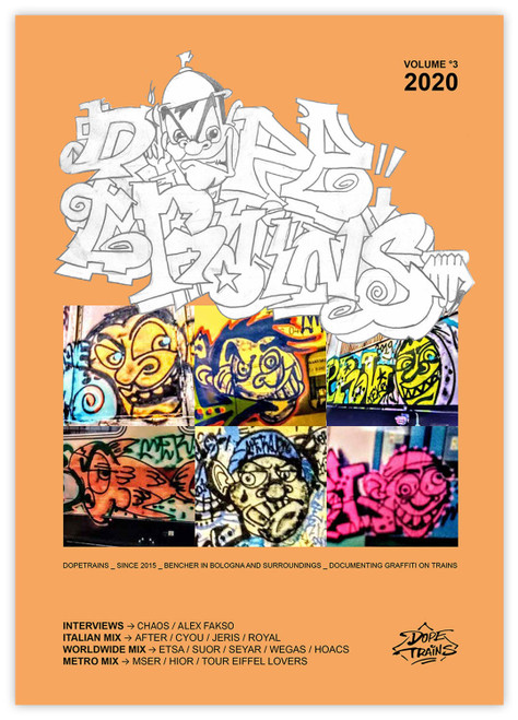 DopeTrains Magazine - Volume 3