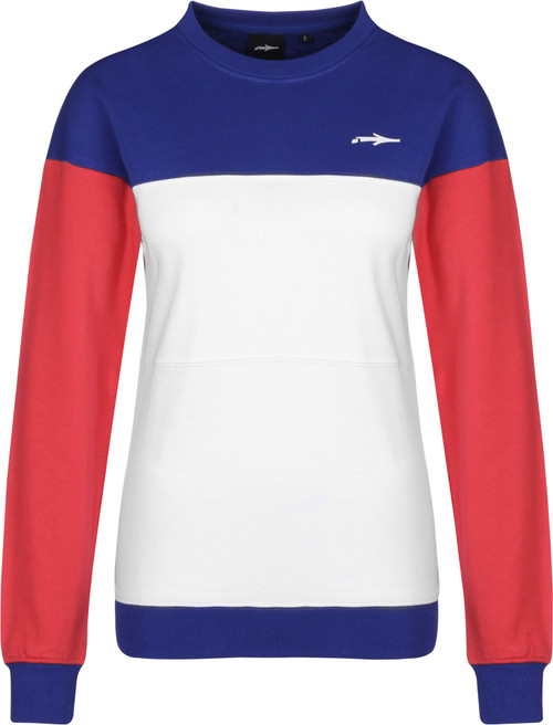 Illmatic Tillia Light Womens Sweater White/Red/Blue