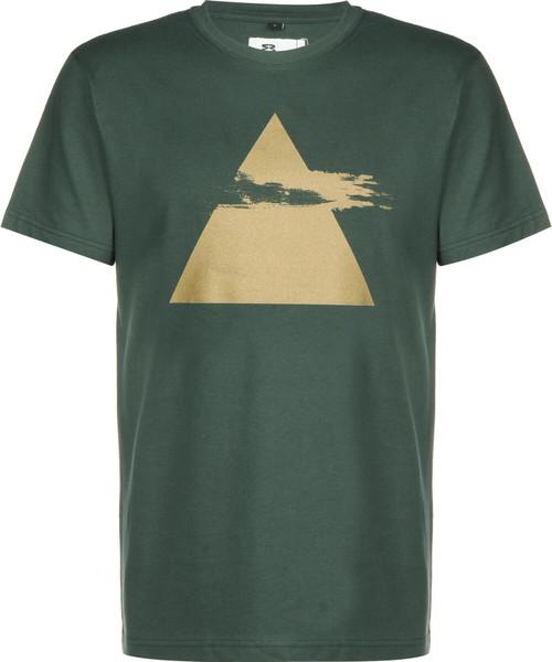 Eight Miles High Pyramid T-Shirt Green