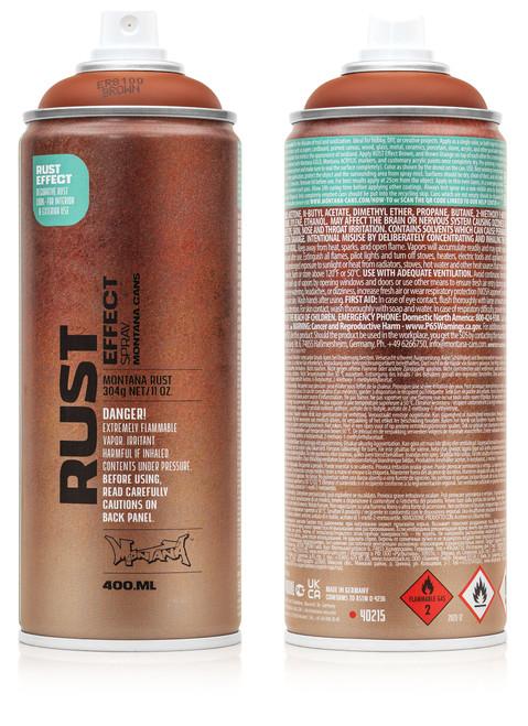 Montana Rust Effect Spray Paint 400ml
