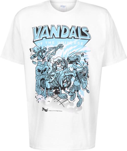 Writerclothing Vandals Duotone T-Shirt White Blue