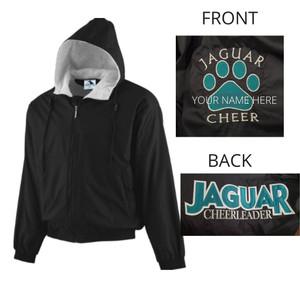 SV Cheer Hooded Fleece Lined Jacket