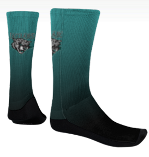 Sublimated Jaguar Socks