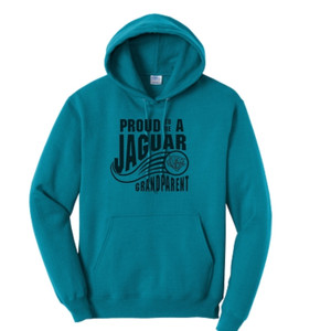Jaguar Grandparent Teal Hoodie