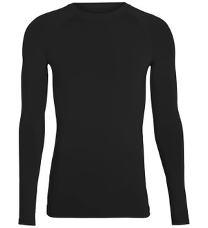 Long Sleeve Black Compression Tee