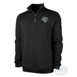 Leopard 1/4 Zip Sweatshirt
