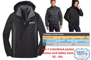3-in-1 Colorblock Coat (Online Only)