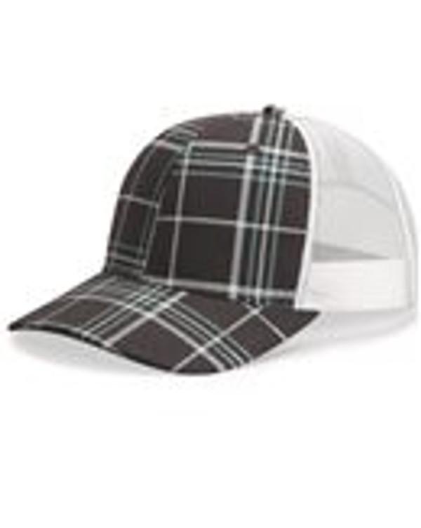 Patterned Snapback Trucker Cap