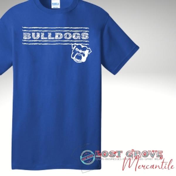 Bulldog Short Sleeve Tee