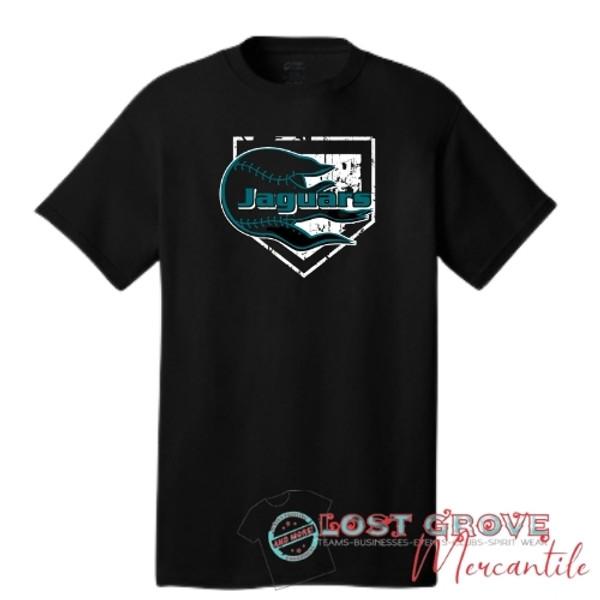 Jaguars Baseball/Softball Short Sleeve Tee