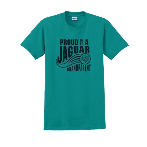 Jaguar Grandparent Teal Short Sleeve Tee