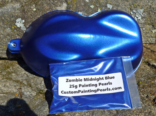 Zombie Midnight Blue Pearl