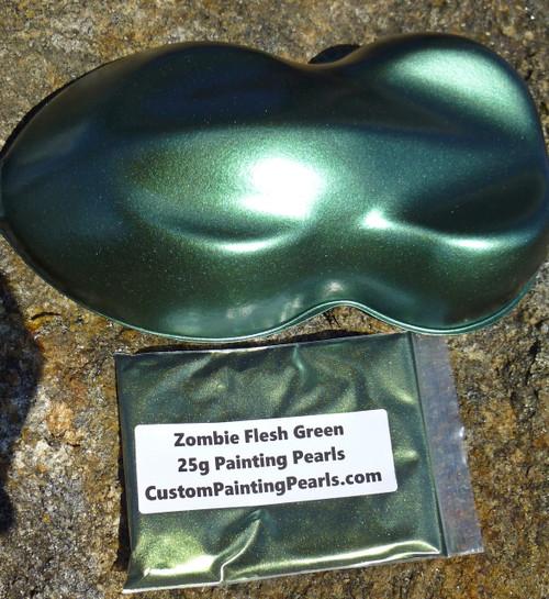 Zombie Flesh Green