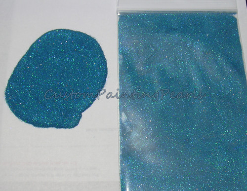 Ocean Blue Holographic Flake .004""
