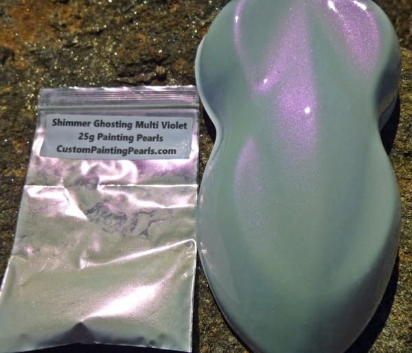 Shimmer Ghosting Multi Violet