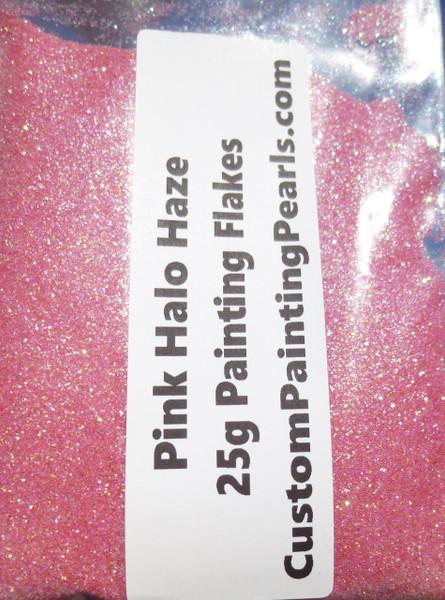 "Pink Halo Haze Flake .008"""