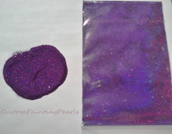"Deep Purple Holographic Flake .004"""