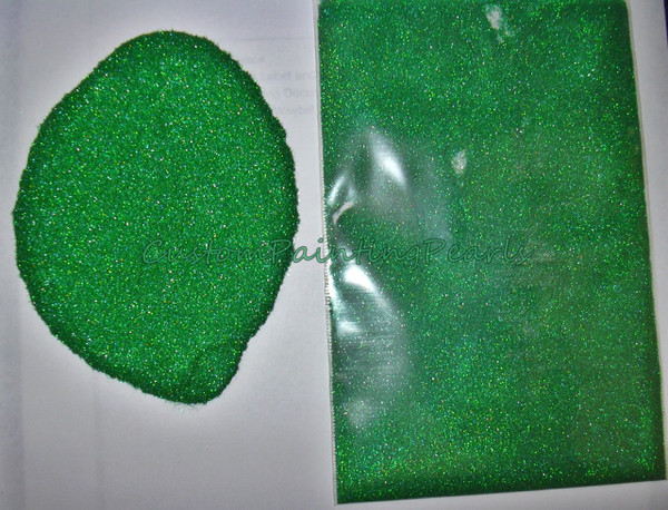 """Emerald Green Holographic Flake .004"""""""