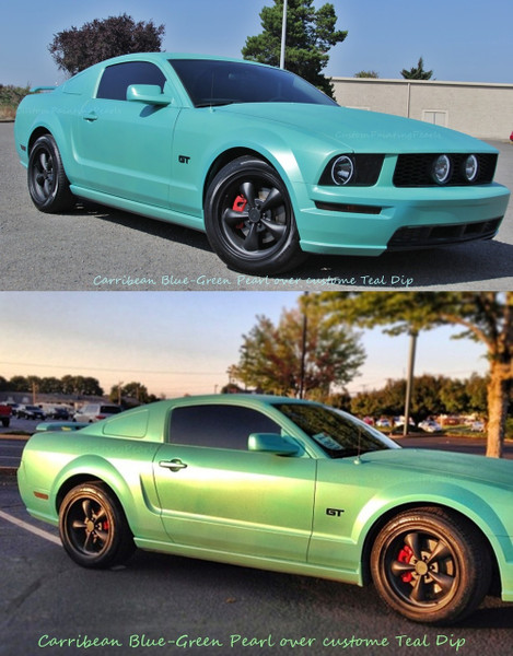 Caribbean Blue/Green Pigment