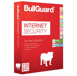 BullGuard 2021 Internet Security 3 Users 1 Year Genuine License PC/MAC