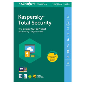 Kaspersky Total Security 2021 1 Year 3 Devices Users Malware Antivirus