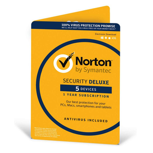 Norton Security Deluxe 2021 1 Year 5 Devices Users Malware Antivirus