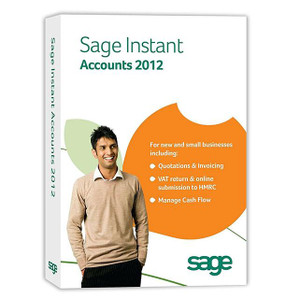 Sage Instant Accounts 2012 - Instant Delivery Small Business Bookkeeping
