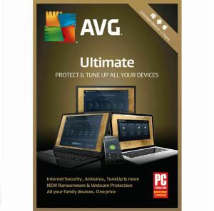 AVG Ultimate Security Privacy Performance 2 Year 10 Devices 2021