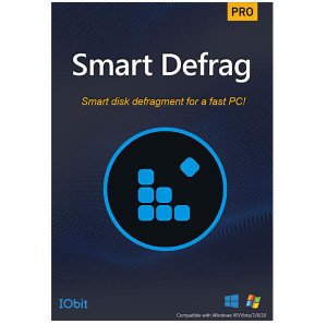 Iobit Smart Defrag 6 PRO 1 Year 3 devices