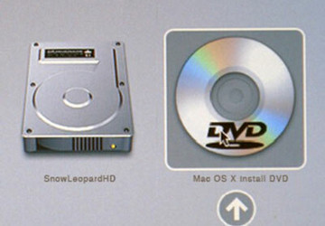 Apple OS Recovery DVD