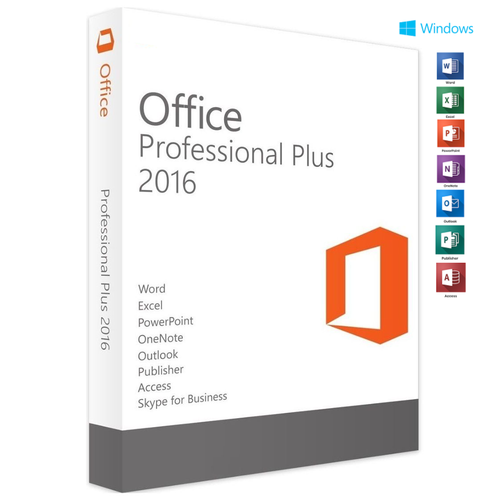 Microsoft Office 2016 Word Excel Outlook Publisher Lifetime License