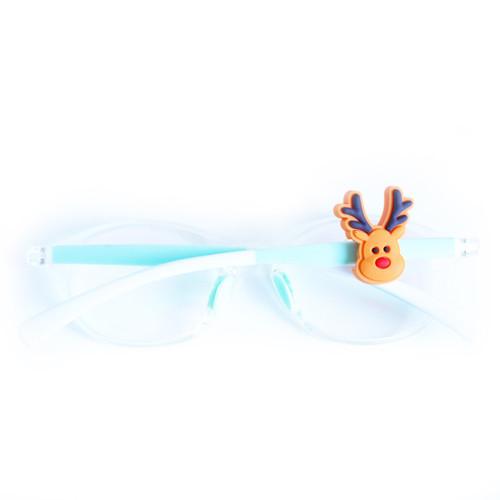 Blinx Christmas reindeer eyewear charm for glasses