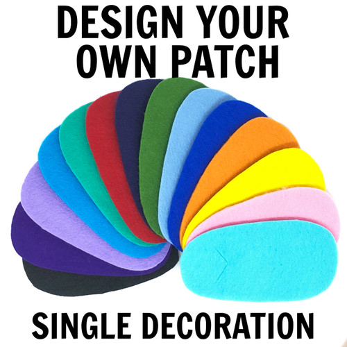 Design your own fabric eye patch!