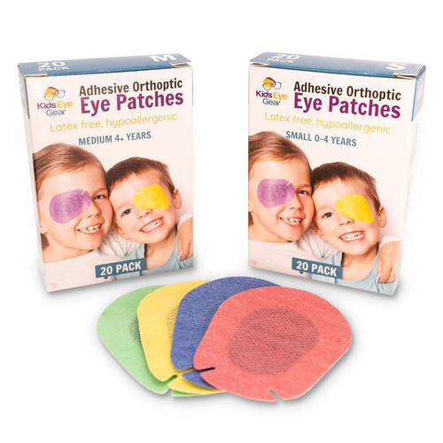 Kids Eye Gear adhesive eye patches for children