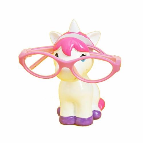 Pink Unicorn glasses holder
