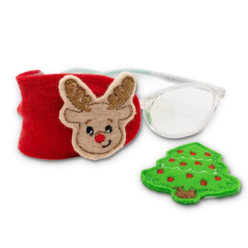 Fabric Eye Patch Set : Christmas