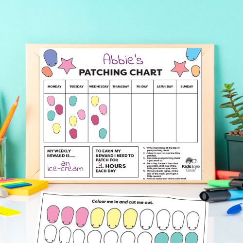 Cut Me Out patching chart - how they work.