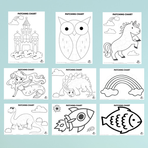 Included designs in the pack