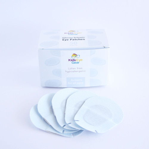 Kids Eye Gear cotton soft adhesive eye patches for children