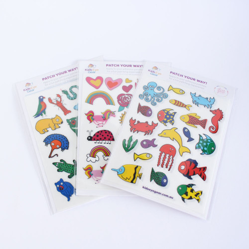 Elise Gow Patch Your Way Adhesive Eye Patch Decorations